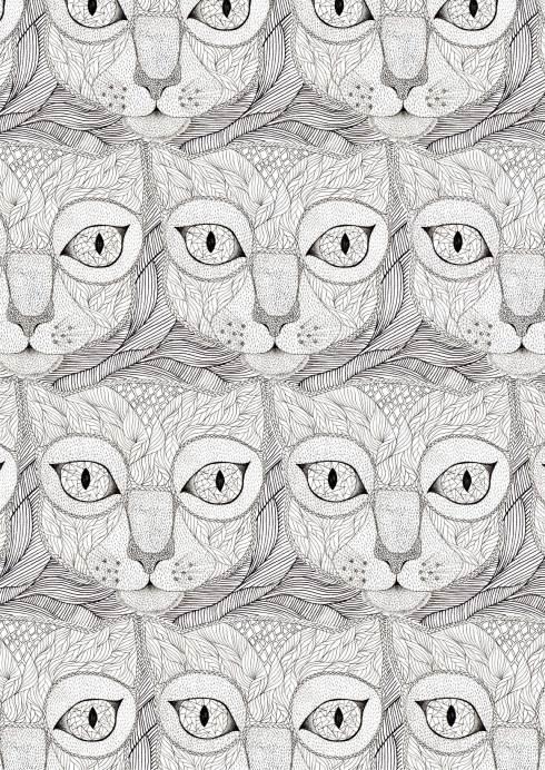 Cat with glasses. Un dels millors dissenys, de l'Alicia Villodres.