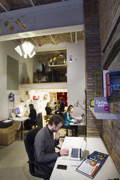 Coworking in Monistrol 8. Foto: Pere Virgili