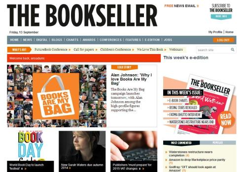 Webpage_Bookseller