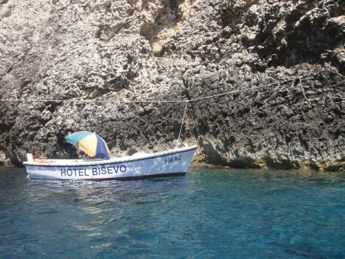 El meu hotel (Blue caves. Illa Hvar)
